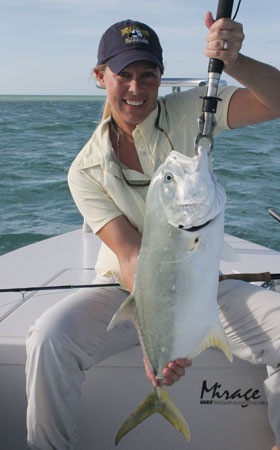 Fishing for jack crevalle in key west flats fishing key for Key west flats fishing